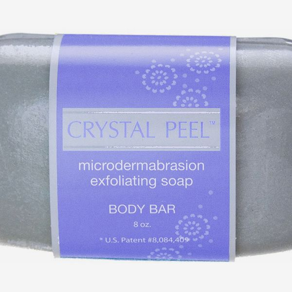 Crystal Peel Microdermabrasion Exfoliating Soap Body Bar