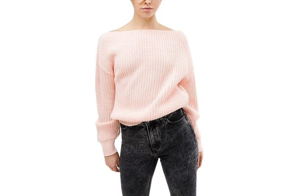 Glamourous Off the Shoulder Sweater