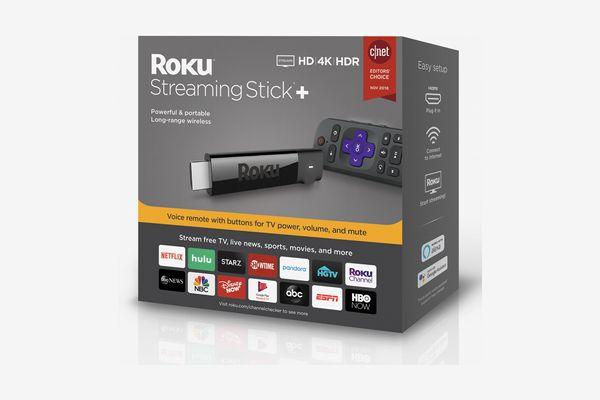 Roku Streaming Stick+ 4K Media Player