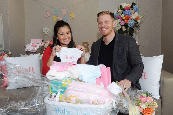<em>Bachelor</em> Alums Get Real at Sponsored Baby Shower