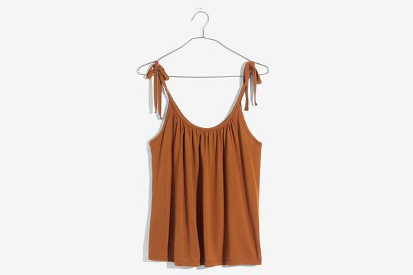 Madewell Gathered Neck Tank