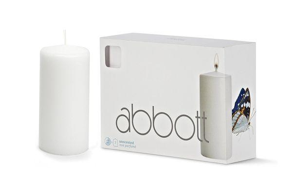 Abbott Collection Classic Pillar Candles, 3 Pack