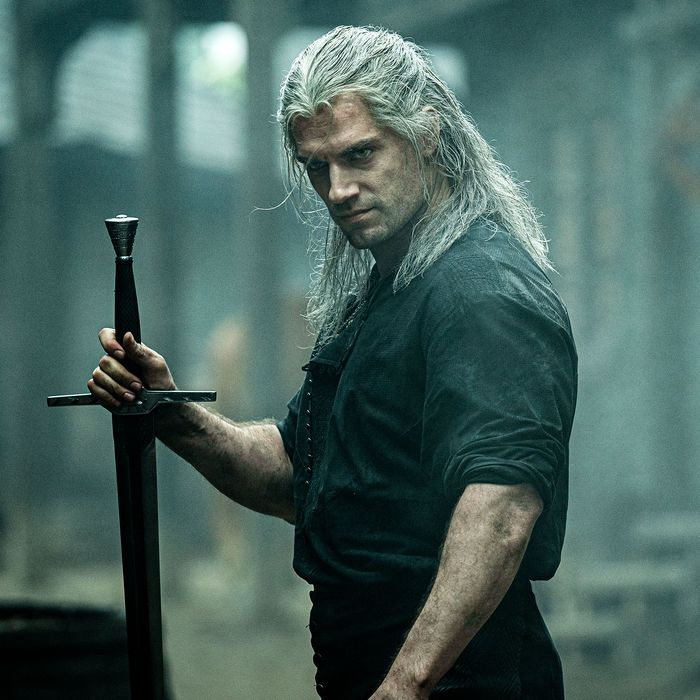 Henry Cavill as Geralt of Rivia in The Witcher.