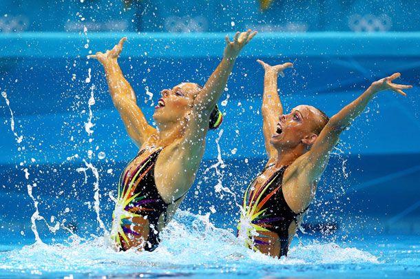 Slideshow: Sparkly Synchronized Swim Costumes -- The Cut