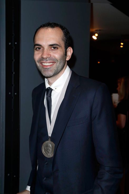 Dominique Ansel==2014 JAMES BEARD FOUNDATION AWARDS==The David H. Koch Theater, New York==May 5, 2014.
