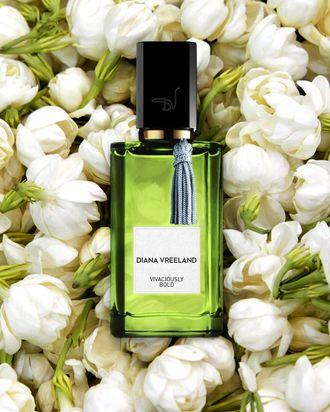 Diana Vreeland's latest scent, Vivaciously Bold