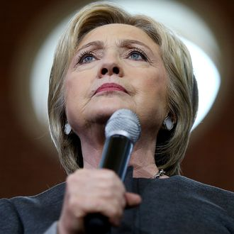 Hillary Clinton Campaigns Across U.S. Ahead Of Super Tuesday Primaries