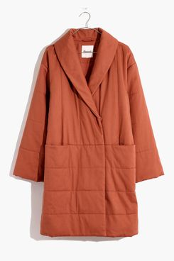 Madewell Dumont Quilted Coat