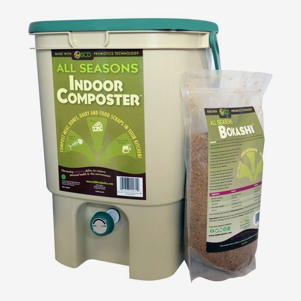 SCD Probiotics All Seasons Indoor Composter Kit With Bokashi