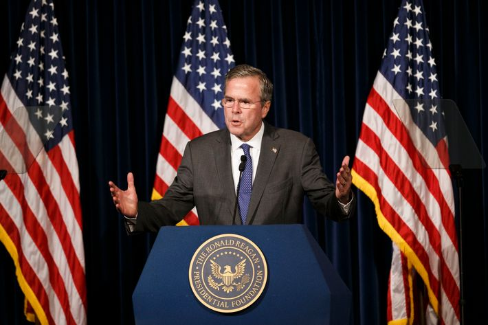 Republican Presidential Candidate Jeb Bush Foreign Policy Speech