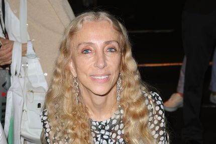 Editor-in-chief of Vogue Italy Franca Sozzani attends the Ermanno Scervino Spring/Summer 2012 fashion show