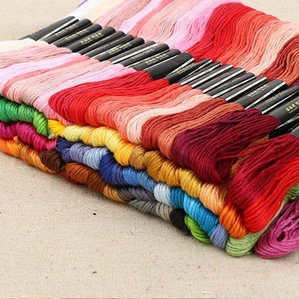 Multicolor Embroidery Thread