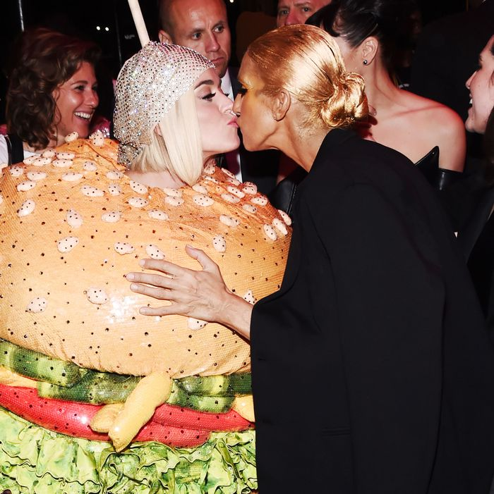Katy Perry and Céline Dion.