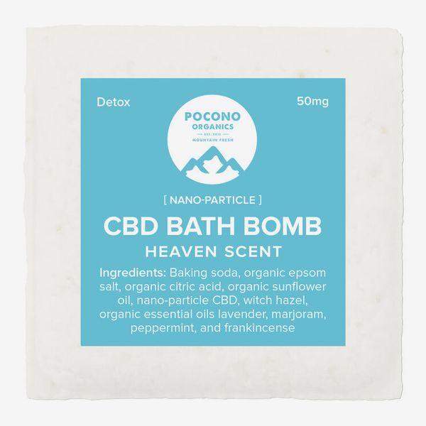 Pocono Organics Bath Bomb, 50 mg