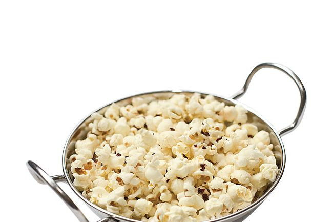 Way beyond popcorn.