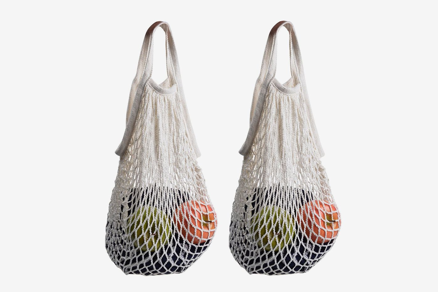 65609825dba Stoncel Pack of 2 Cotton Net Shopping Tote
