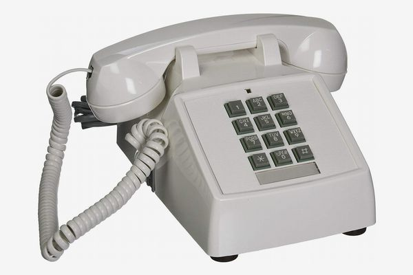 Cortelco ITT-2500-V-WH 1-Handset Landline Telephone