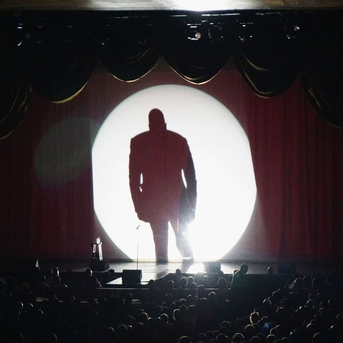 Comedian/actor Dave Chappelle performs at Radio City Music Hall on June 19, 2014 in New York City.