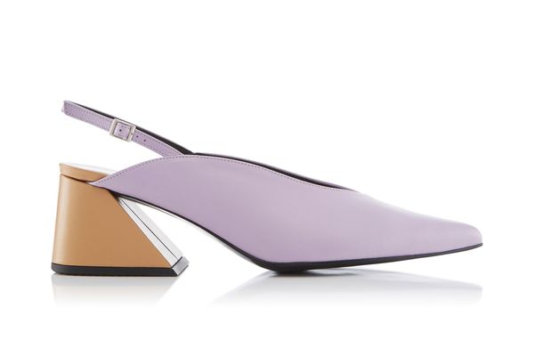 Yuul Yie Slingback Leather Pumps