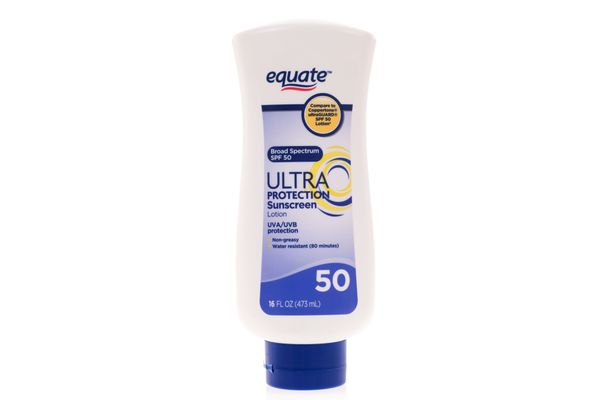 Equate Ultra Protection Sunscreen Lotion Broad Spectrum, SPF 50