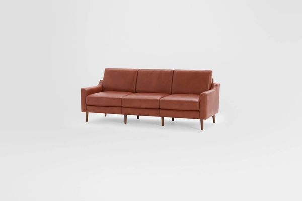 Burrow Nomad Leather Sofa