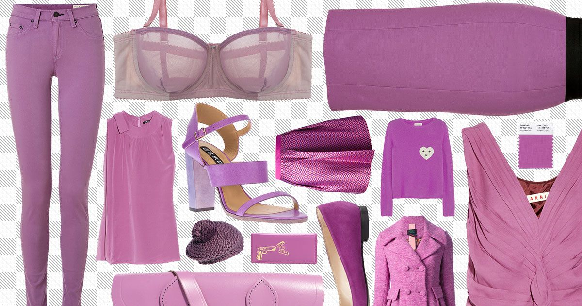 16 pretty finds in pantone 39 s radiant orchid the cut. Black Bedroom Furniture Sets. Home Design Ideas