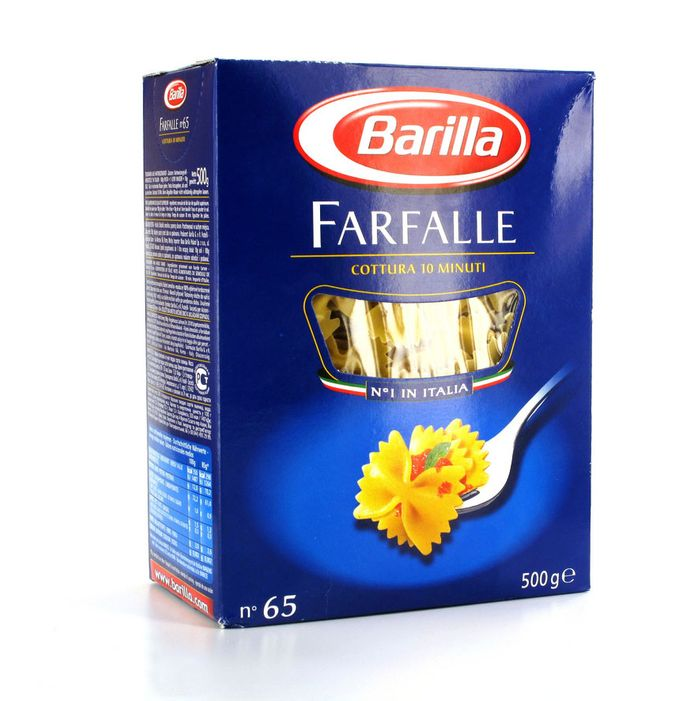 Far-fetched idea for farfalle.
