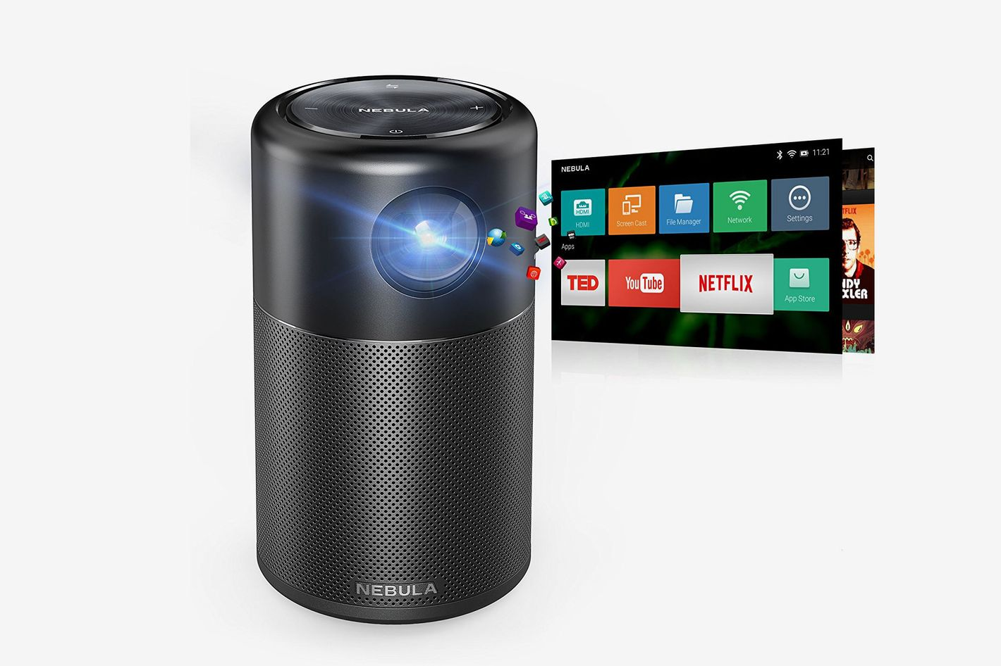 Anker Nebula Capsule Smart Mini Projector