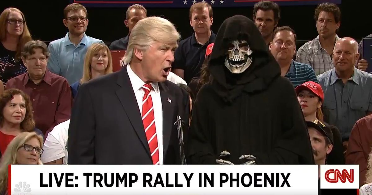 Alec Baldwin's Trump... Alec Baldwin As Trump