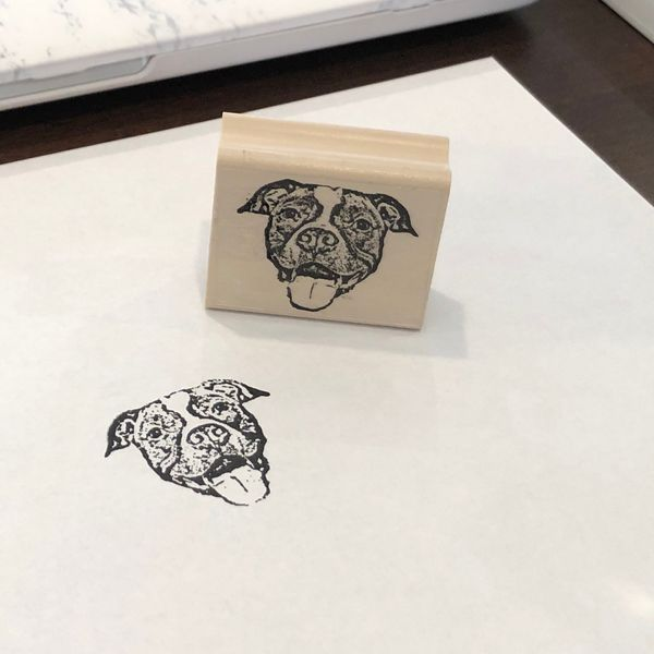 The CLE Stamp Co. Personalized Pet Stamp