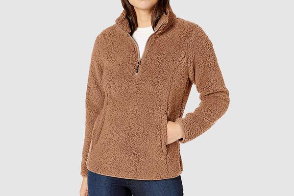 Amazon Essentials Polar Fleece Lined Sherpa Jacket