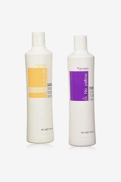 Fanola No Yellow Shampoo Nutri Care Conditioner 1000 Ml + Nutri Care Conditioner