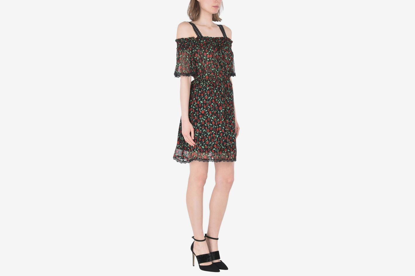 The Kooples Crinkle Viscose Dress