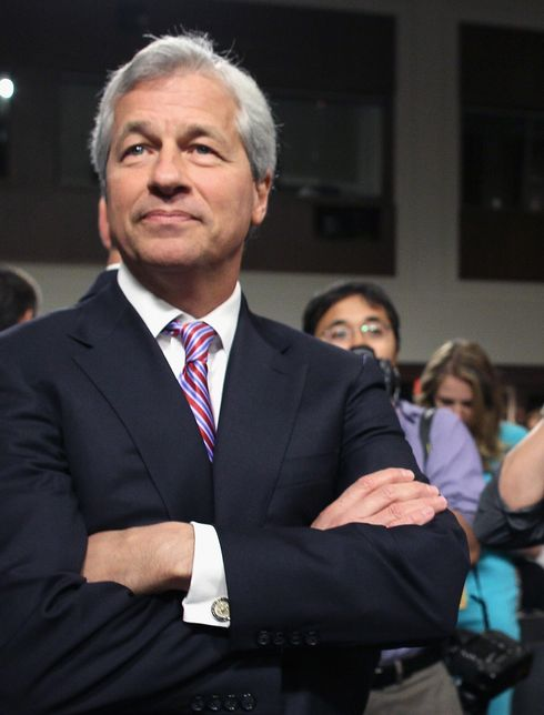 Jamie Dimon, a taskmaster no more.