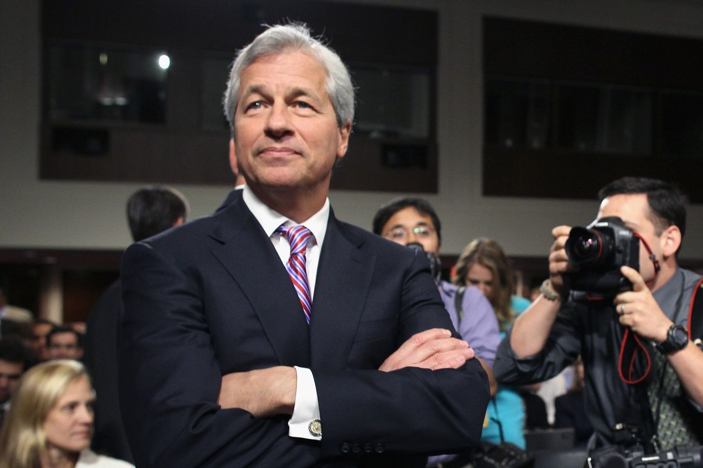 President and CEO of JPMorgan Chase Co. Jamie Dimon