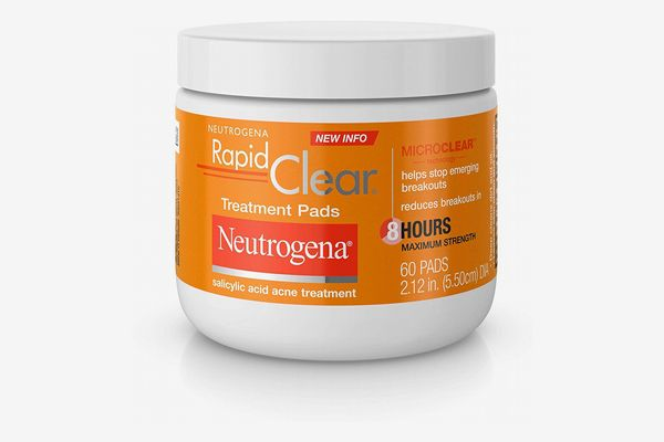 Neutrogena Rapid Clear Acne Face Pads with Salicylic Acid