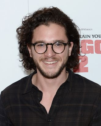 NEW YORK, NY - JUNE 11: Actor Kit Harington attends the DreamWorks Animation & 20th Century Fox screening of
