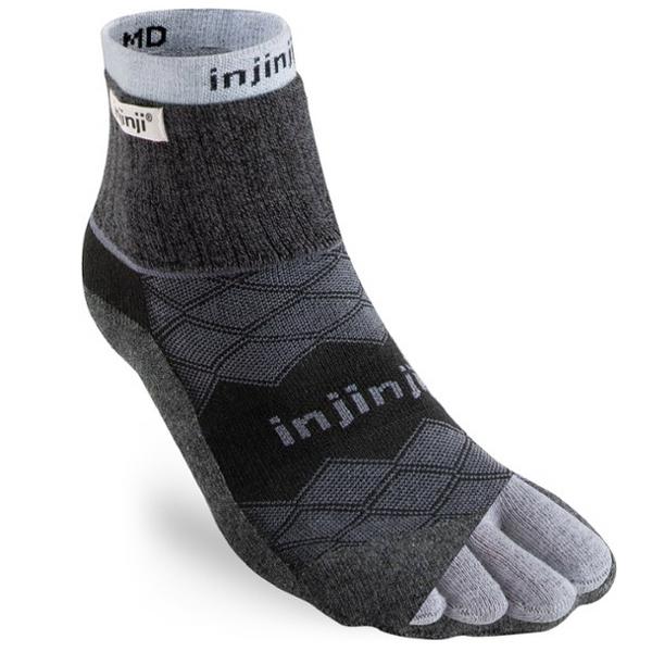 Injinji Liner + Runner Mini-Crew Socks