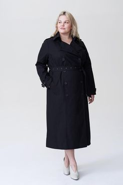 Universal Standard Tirsa Long Trench Coat