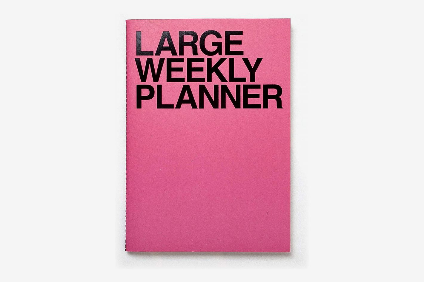 JSTORY Large Personal Wide Spaces Weekly Planner 28 Sheets Pink