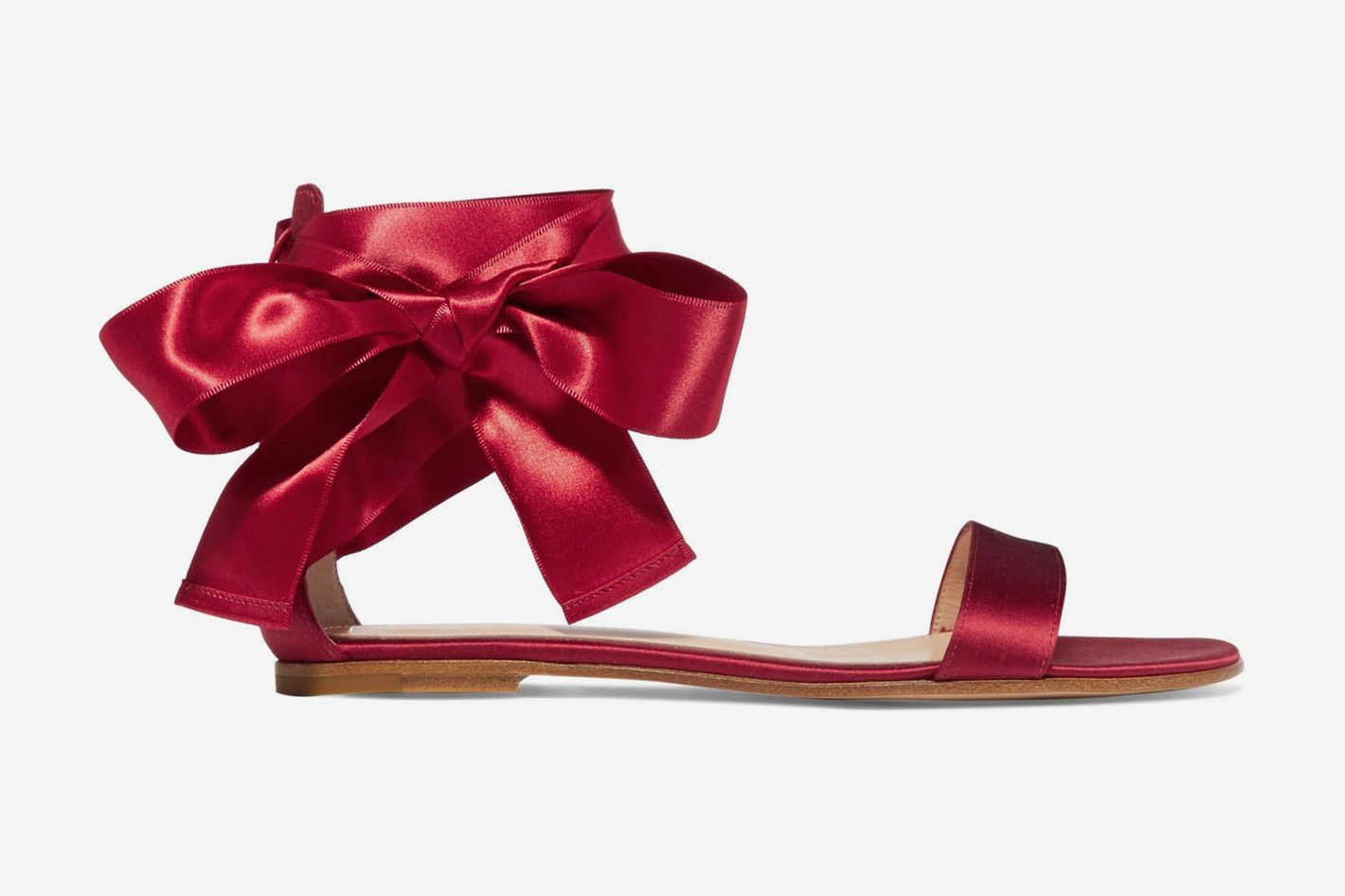 Gianvito Rossi Satin sandals