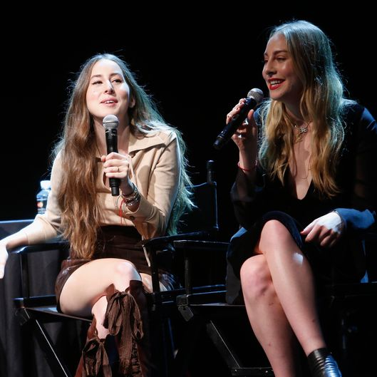 The New Yorker Festival 2015 - HAIM Talks With Kelefa Sanneh