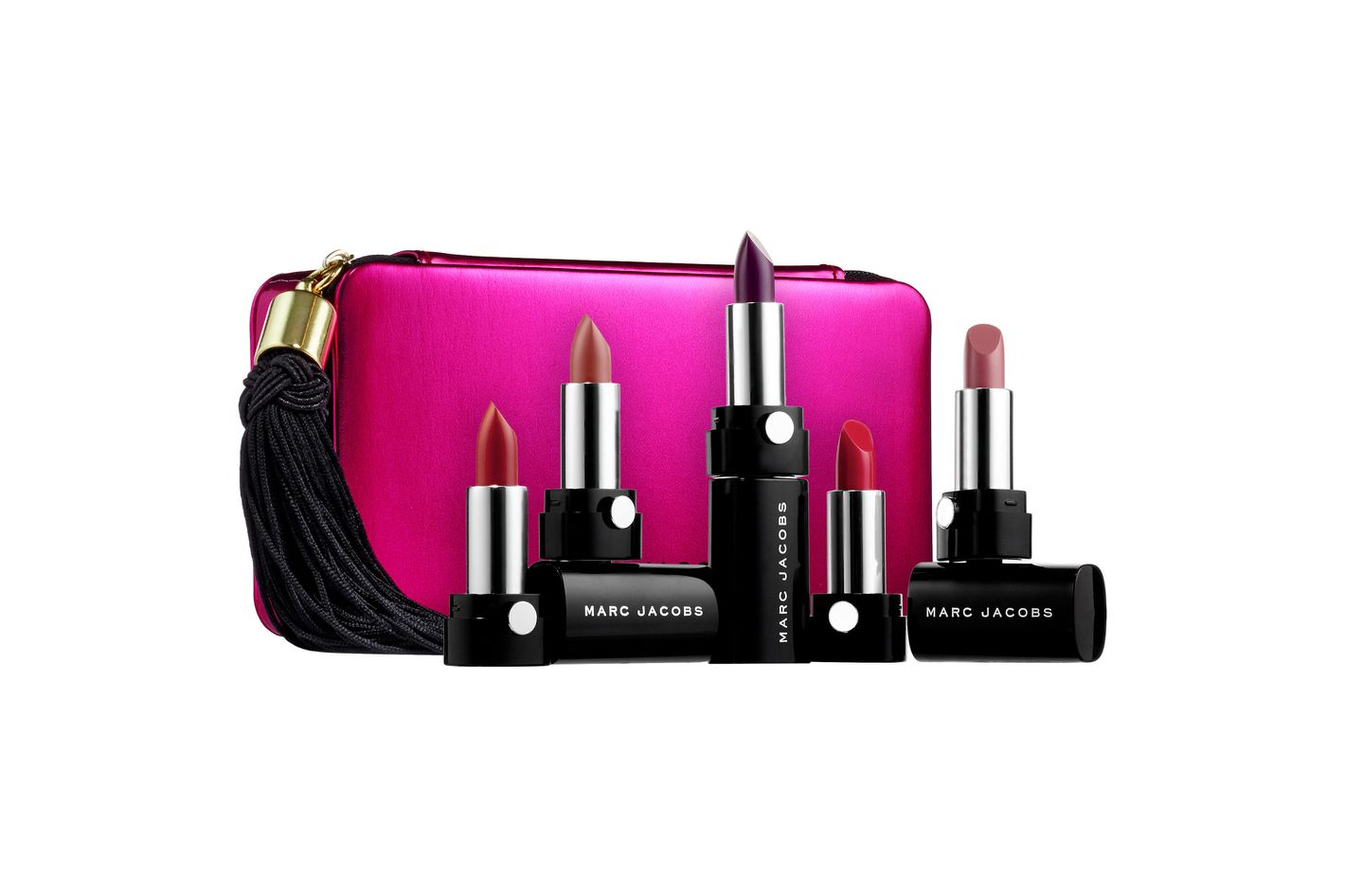Marc Jacobs Beauty Up All Night Five-Piece Petites Le Marc Lip Crème Collection