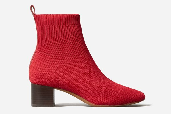 The Glove Boot ReKnit in TOMATO