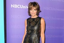 Actress Lisa Rinna arrives at the NBC Universal All-Star Party.