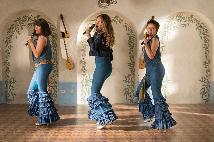 The young ladies of Mamma Mia!