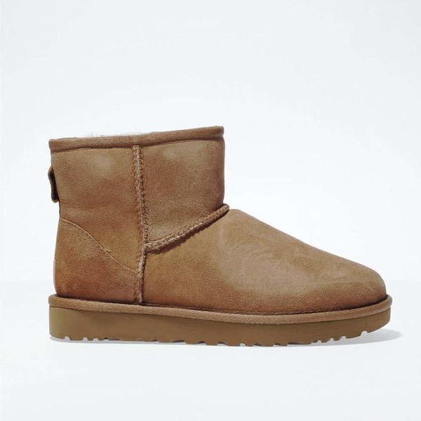 UGG Tan Classic Mini Boots