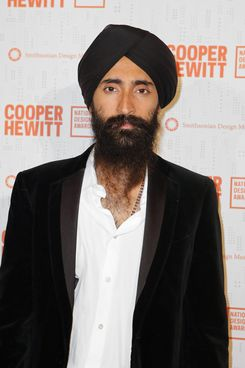 House of Waris designer Waris Ahluwalia.