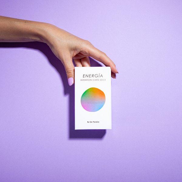 Ser Paraíso Energía Intention Card Deck