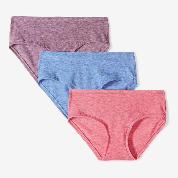Mae Women's Airy Hipster Underwear, 3-Pack